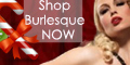 Love Burlesque Christmas Banner
