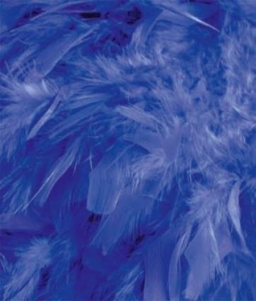 Royal Blue Feather Boa