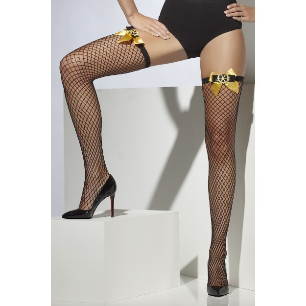 Lattice Net Steam Punk Stockings
