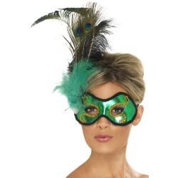 Emerald Peacock Eyemask