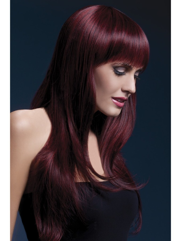 Fever Sienna Wig - Black Cherry