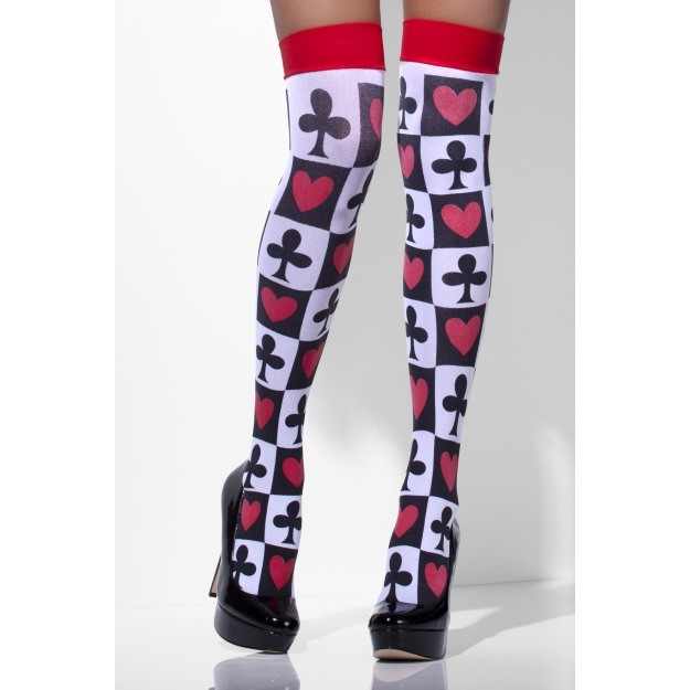 Opaque Hold Ups With Poker Pattern