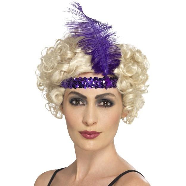 Purple Flapper Headband