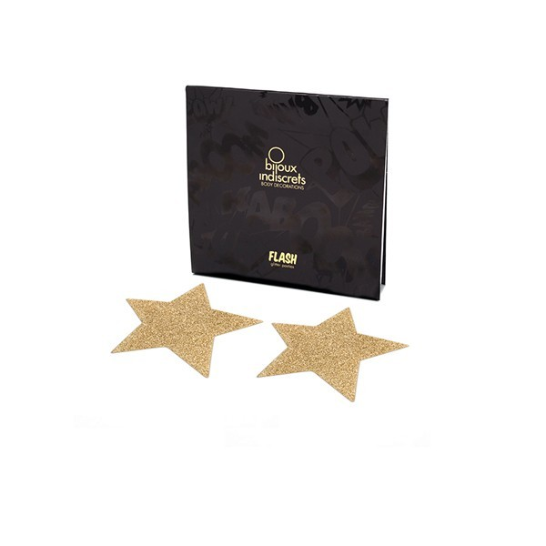 Bijoux Gold Star Flash Pasties