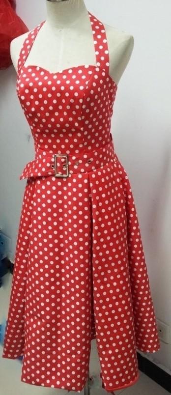Burlesque Rockabilly Dress