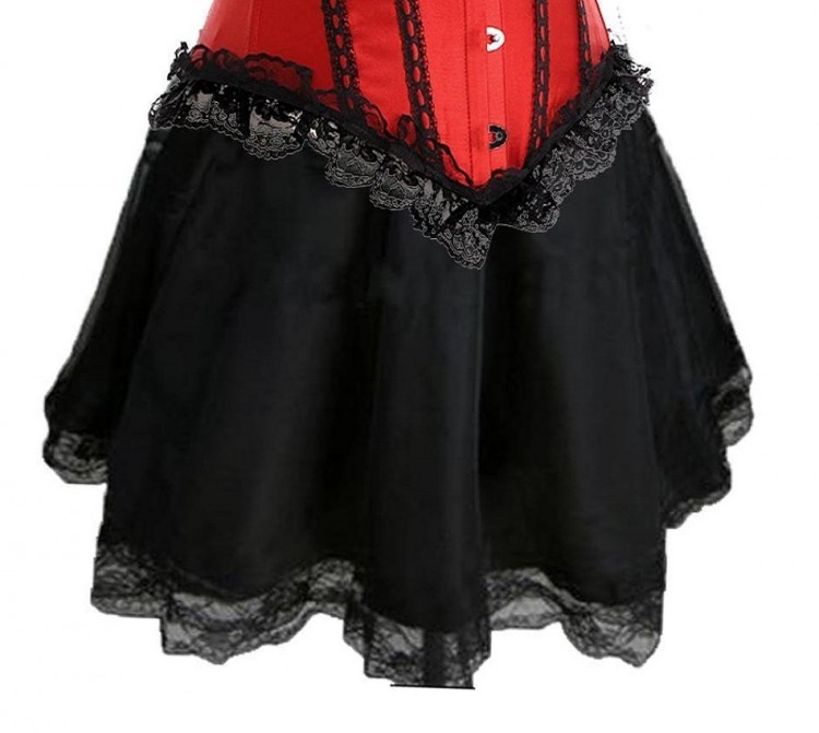 Black Burlesque Skirt