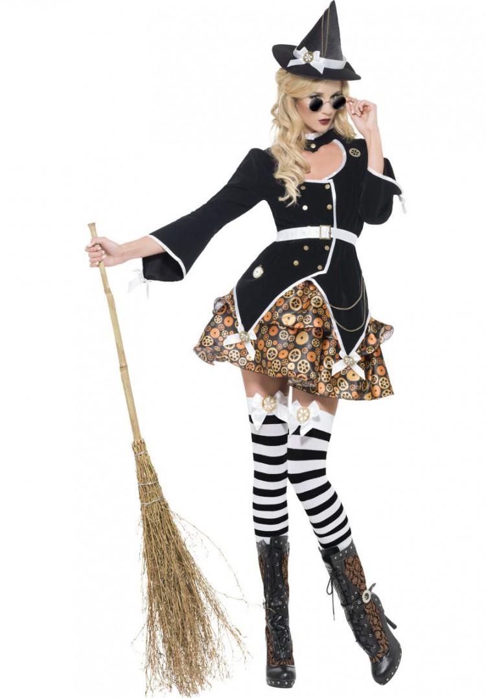 Steampunk Witch Costume