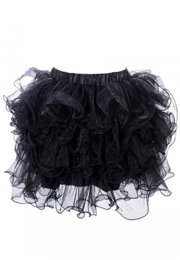 Black Ruffle Burlesque Tutu