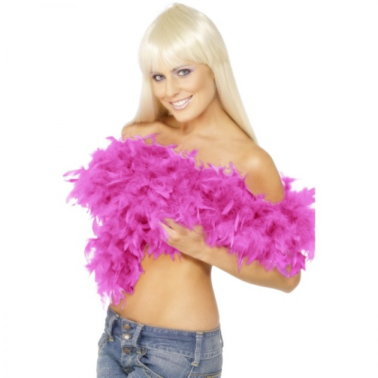 Deluxe Fuchsia Feather Boa