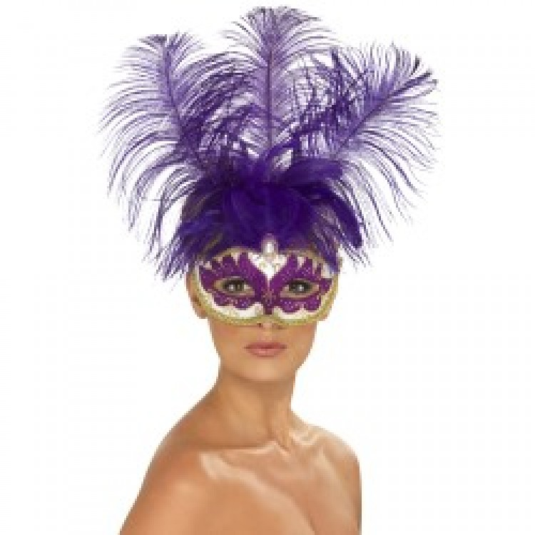 Purple Feather Beauty Eyemask