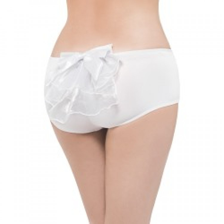 White Hot Bow Panties