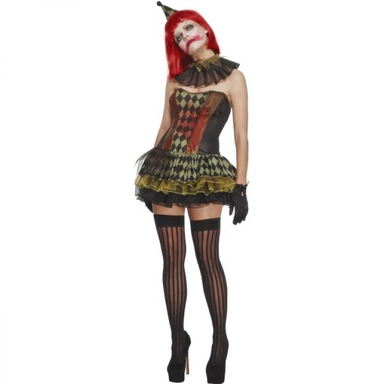 Creepy Zombie Clown Costume