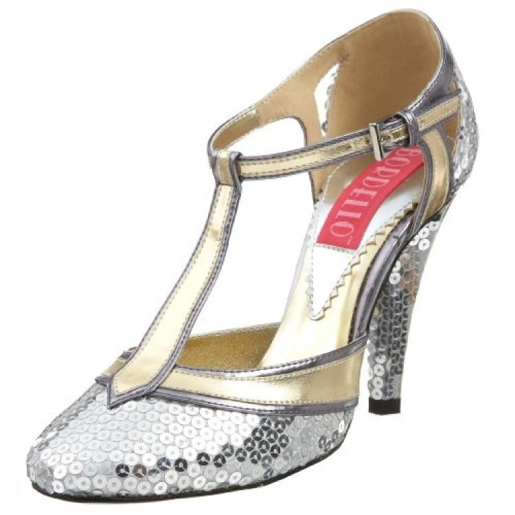 Cabaret Silver Shoes Uk4