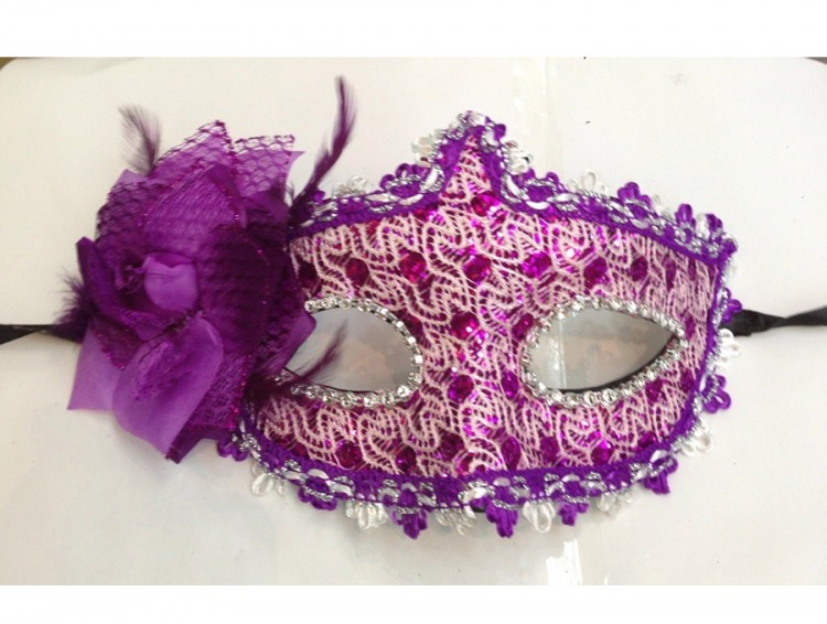 Flowers Masquerade Mask