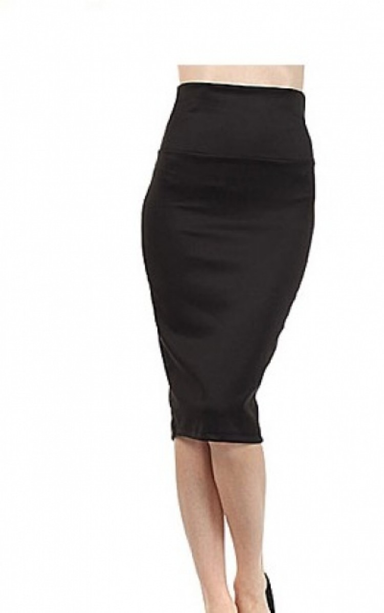 Midnight Rendezvous Hobble Skirt