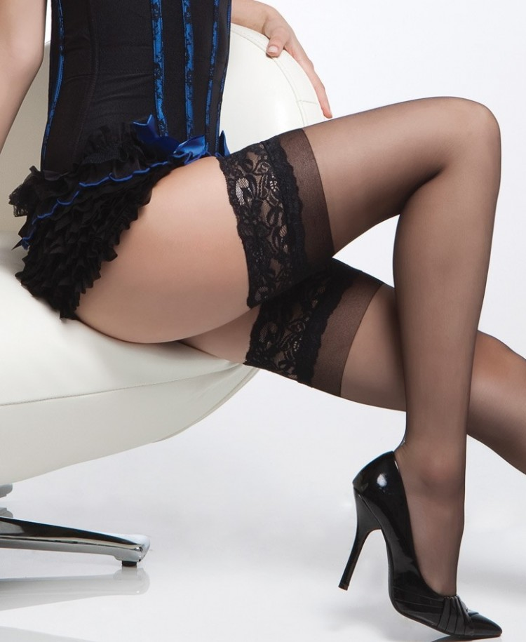 Lace Top Hold Ups