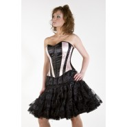 Knee Length Black Petticoat