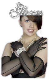 Burlesque Gloves Accessories