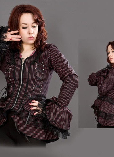 Black and Red Attitude Jacket