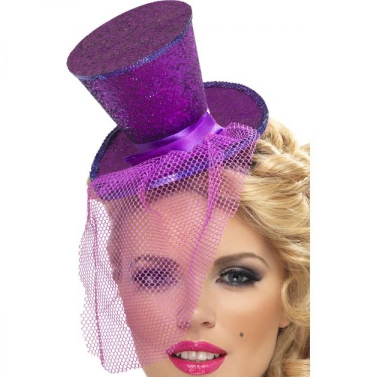 b6fa4549a02ad Purple Glitter Hat