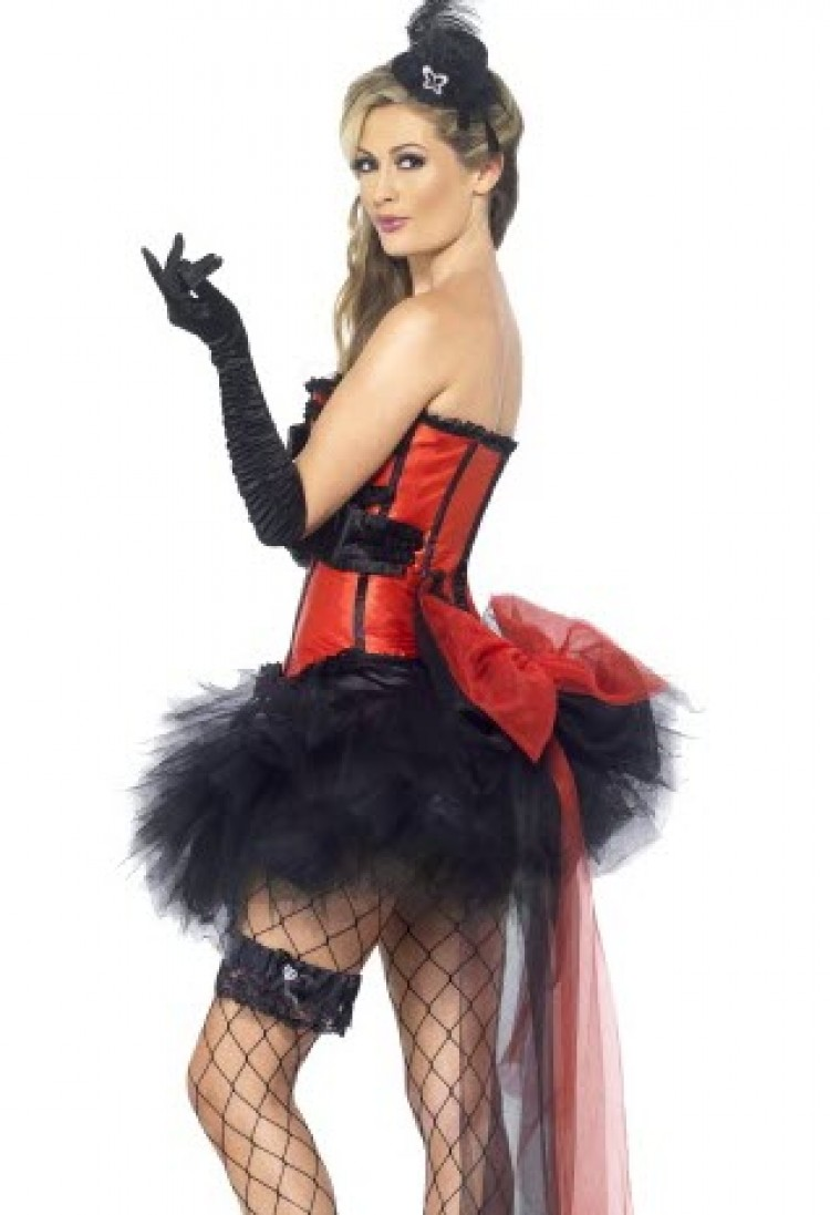 Red & Black Instant Burlesque Kit