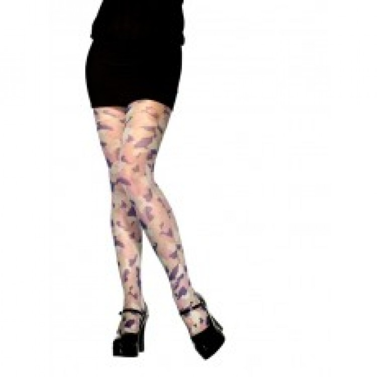 Camouflage Print Tights