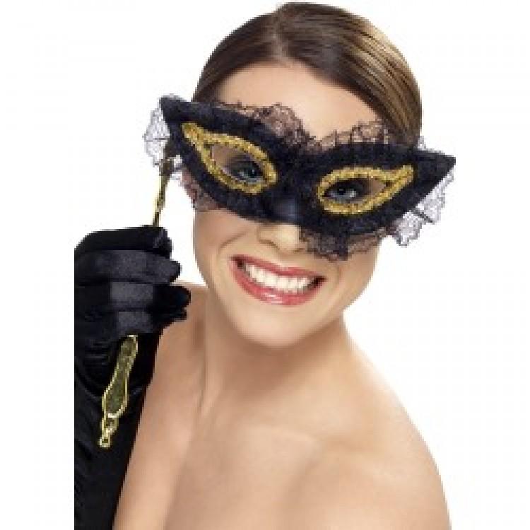 Black Fastidious Eyemask