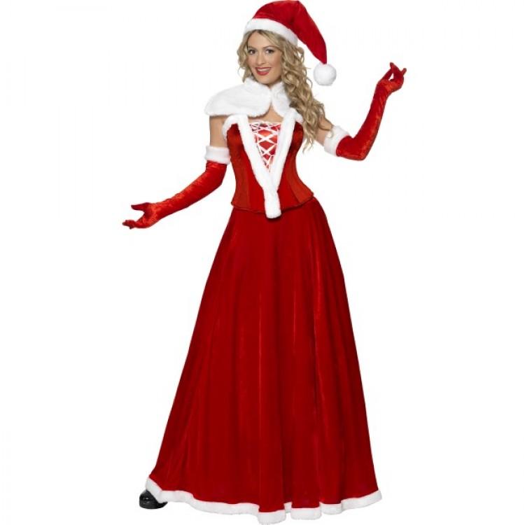 Luxury Miss Santa Costume