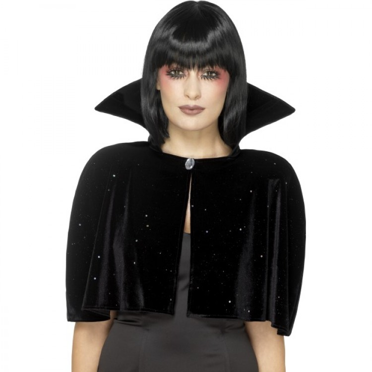 Evil Queen Black Cape