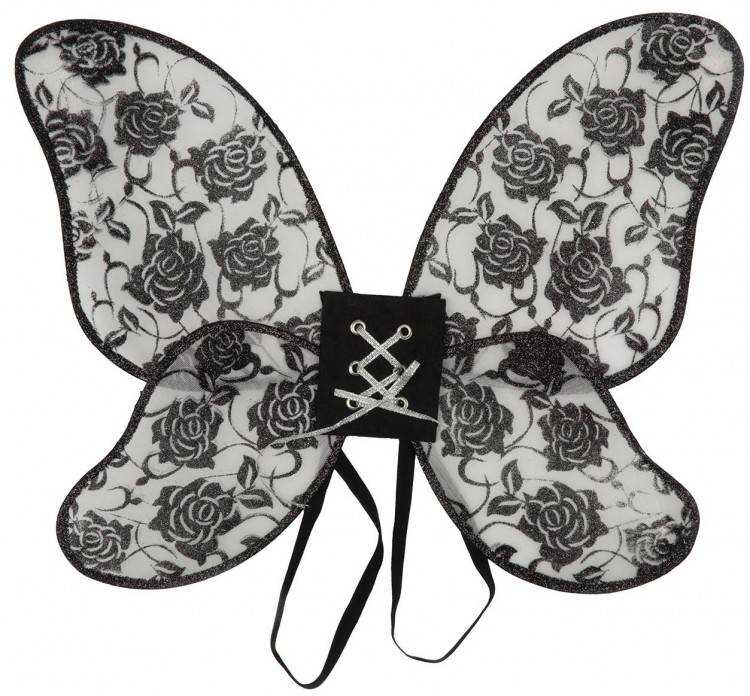 Black Rose Mini Wings