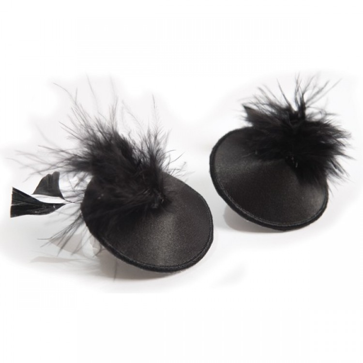 Burlesque Feather Pasties