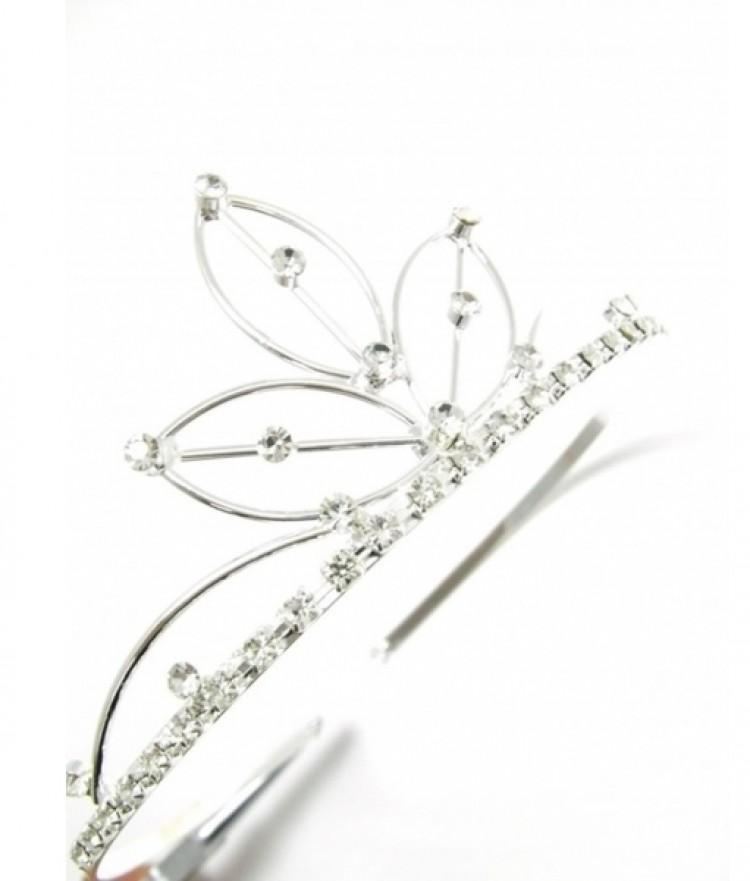 Crystal Silver Tiara