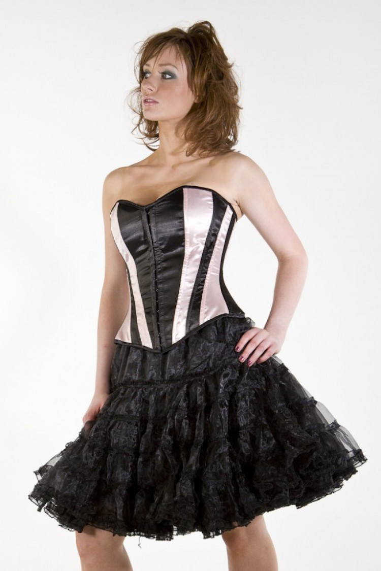 Knee Length Black Petticoat