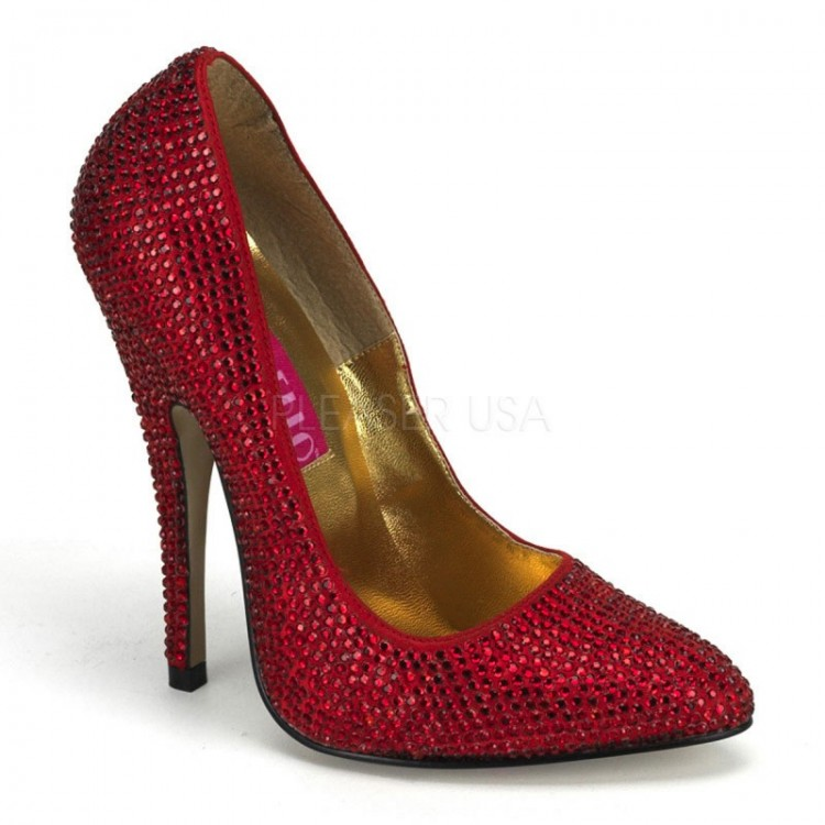Bordello Scandal Rhinestone Shoes (UK 5)