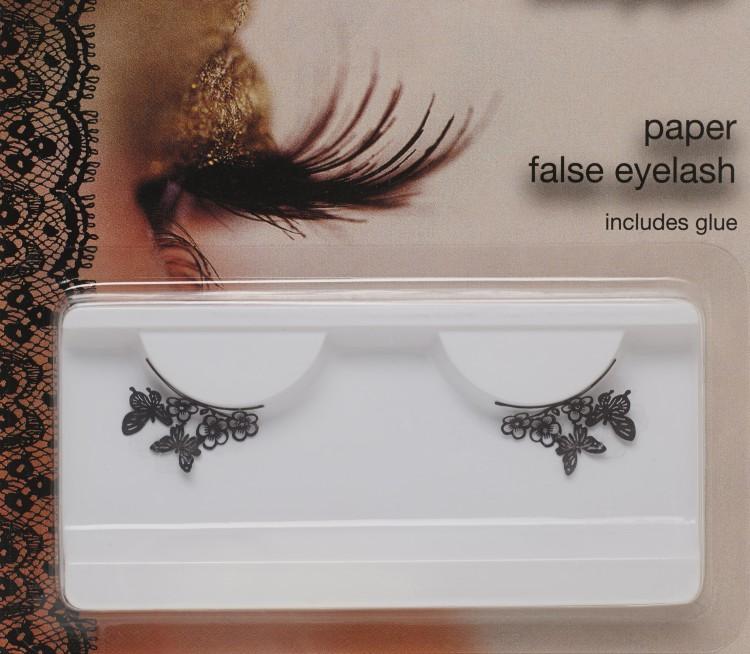 Paper Butterfly False Eyelashes