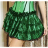 Green Lace Layered Skirt